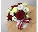 Шляпная коробка с цветами №22