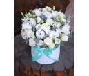 Шляпная коробка с цветами №27