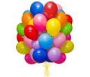Воздушные шарики ассорти 50 шт