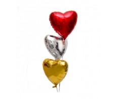 Микс сердец(3 штуки)