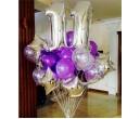 Фиолетовое поздравление