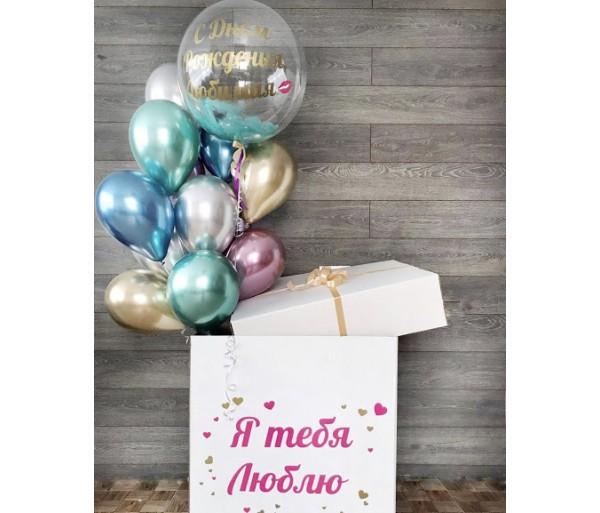 Коробка с шарами 1