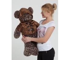 Коричневый плюшевый медведь  Диего 90см