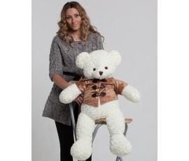 Белоснежный медведь  Доминик 80см