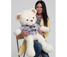 Белый медведь Джексон 80см