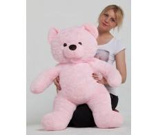 Розовый медведь Гордей 100см